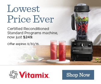 Vitamix August 2016 Sale