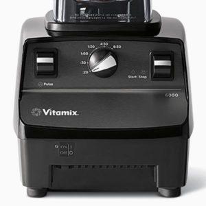 Vitamix 6000 controls