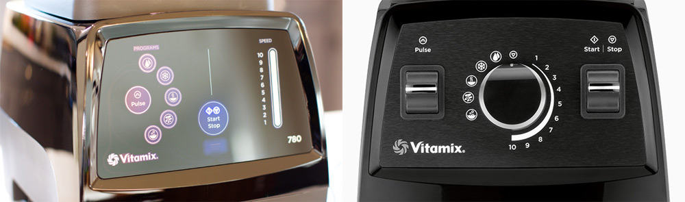 Vitamix 780 vs 750 Controls