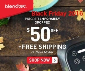 Blendtec  Black Friday 2017