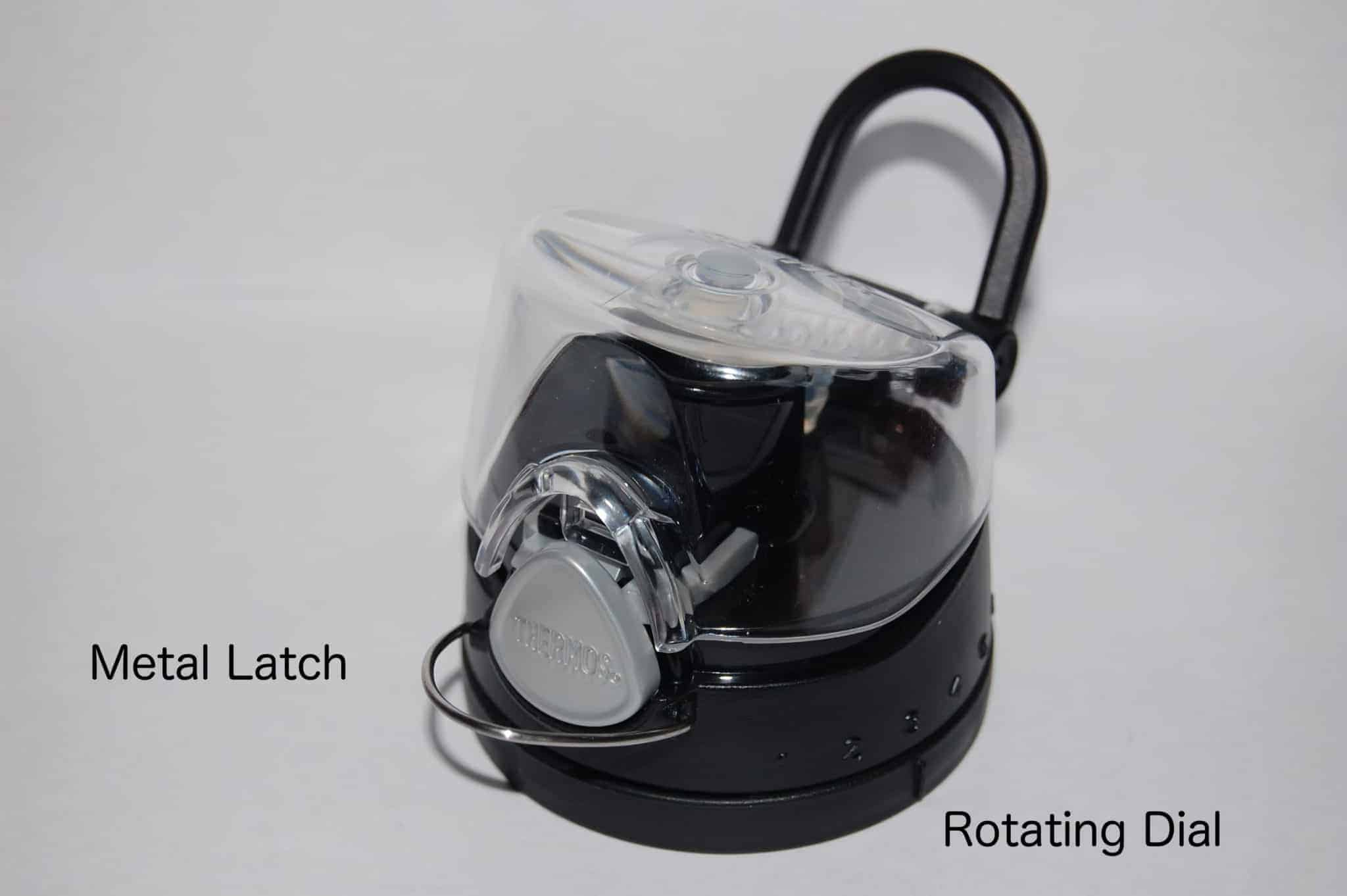 vitamix smoothie bottle lid latch dial