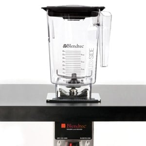 Blendtec Tom Dickson Extreme Blender mounted in countertop