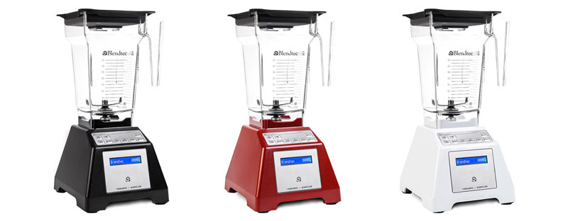 Blendtec Total Blender Certified Refurbished colors