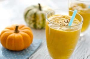 The Perfect Fall Drink: Pumpkin Smoothie