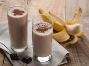 The Chocolate, Peanut Butter, Banana Protein Smoothie