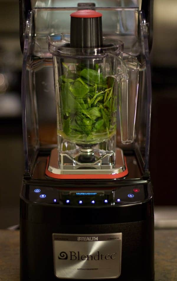 Blendtec Stealth - The quietest commercial blender now in your home